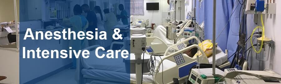 Anesthesia & 20Intensive care